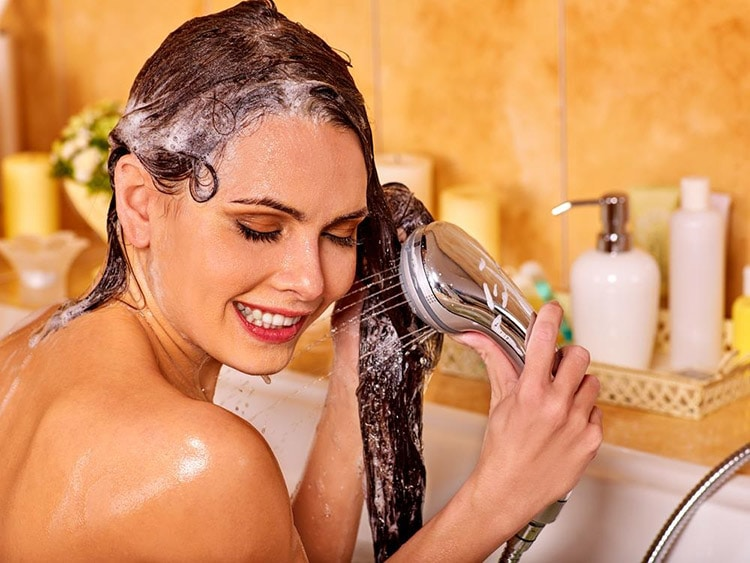 How to get Vaseline out of hair use clarifying shampoo