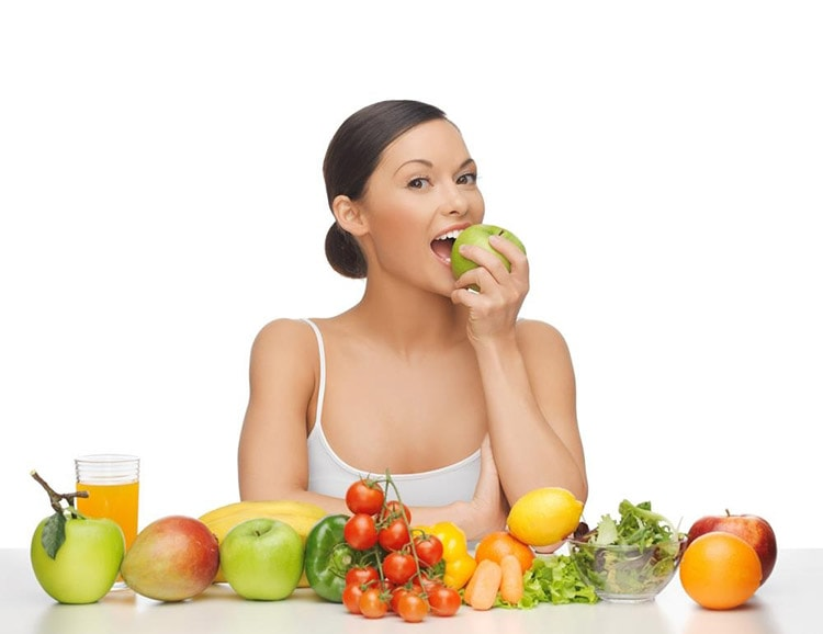 How to Make Your Lips Soft Using Eat lots of vegetables and fruits