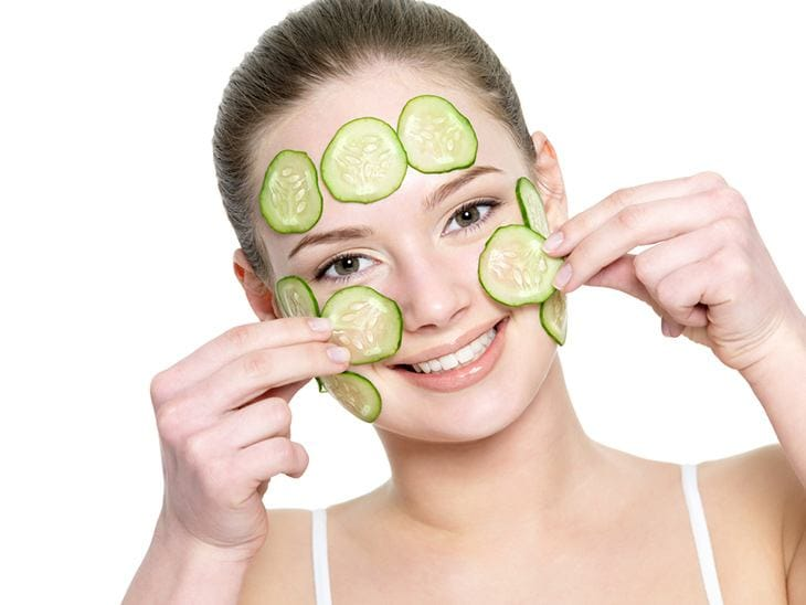 use cucumbers for sunburns