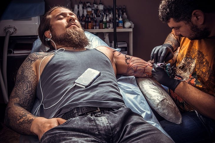 What does getting a tattoo feel like and how to minimize it for How bad does getting a tattoo hurt