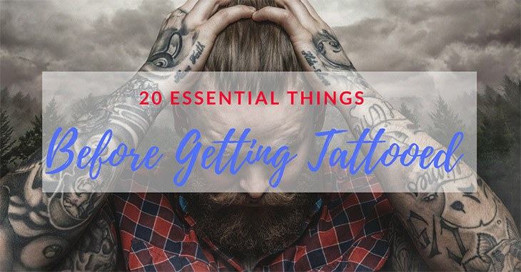 things that you need to know before getting tattooed