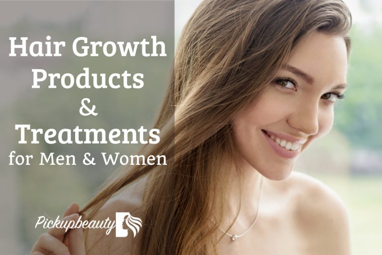 Best Hair Growth Products & Treatments for Men & Women